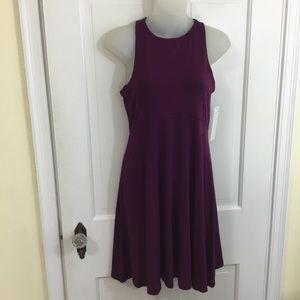 Athleta Santorini Thera Dress XS Violet Plum New